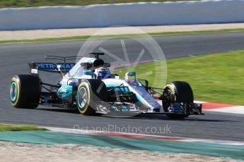 World © Octane Photographic Ltd. Formula 1 - Winter Test 2. Valtteri Bottas - Mercedes AMG Petronas F1 W08 EQ Energy+. Circuit de Barcelona-Catalunya. Tuesday 7th March 2017. Digital Ref: 1784CB1D1307