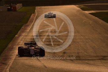 World © Octane Photographic Ltd. Formula 1 - Winter Test 2. Felipe Massa - Williams Martini Racing FW40 and Daniel Ricciardo - Red Bull Racing RB13. Circuit de Barcelona-Catalunya. Tuesday 7th March 2017. Digital Ref :1784CB1D1549