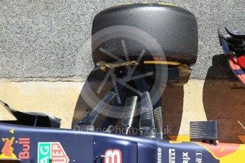 World © Octane Photographic Ltd. Formula 1 - Winter Test 2. Daniel Ricciardo - Red Bull Racing RB13. Circuit de Barcelona-Catalunya. Tuesday 7th March 2017. Digital Ref :1784CB1D4852