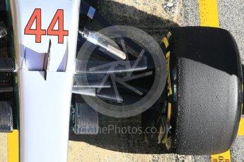 World © Octane Photographic Ltd. Formula 1 - Winter Test 2. Lewis Hamilton - Mercedes AMG Petronas F1 W08 EQ Energy+. Circuit de Barcelona-Catalunya. Tuesday 7th March 2017. Digital Ref :1784CB1D4980