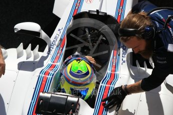 World © Octane Photographic Ltd. Formula 1 - Winter Test 2. Felipe Massa - Williams Martini Racing FW40. Circuit de Barcelona-Catalunya. Tuesday 7th March 2017. Digital Ref :1784CB1D5029