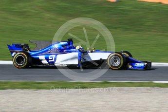 World © Octane Photographic Ltd. Formula 1 - Winter Test 2. Marcus Ericsson – Sauber F1 Team C36. Circuit de Barcelona-Catalunya. Tuesday 7th March 2017. Digital Ref: 1784CB1D5208