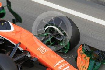 World © Octane Photographic Ltd. Formula 1 - Winter Test 2. Stoffel Vandoorne - McLaren Honda MCL32. Circuit de Barcelona-Catalunya. Tuesday 7th March 2017. Digital Ref :1784CB1D5527