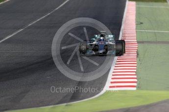 World © Octane Photographic Ltd. Formula 1 - Winter Test 2. Valtteri Bottas - Mercedes AMG Petronas F1 W08 EQ Energy+. Circuit de Barcelona-Catalunya. Tuesday 7th March 2017. Digital Ref: 1784LB1D3399