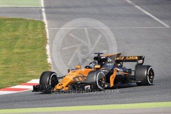World © Octane Photographic Ltd. Formula 1 - Winter Test 2. Nico Hulkenberg - Renault Sport F1 Team R.S.17. Circuit de Barcelona-Catalunya. Tuesday 7th March 2017. Digital Ref: 1784LB1D3468