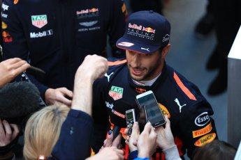 World © Octane Photographic Ltd. Formula 1 - Winter Test 2. Daniel Ricciardo - Red Bull Racing. Circuit de Barcelona-Catalunya. Tuesday 7th March 2017. Digital Ref: 1784LB1D3714