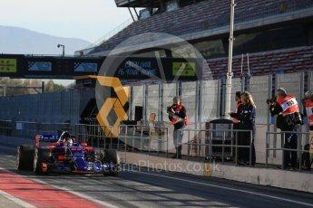 World © Octane Photographic Ltd. Formula 1 - Winter Test 2. Daniil Kvyat - Scuderia Toro Rosso STR12. Circuit de Barcelona-Catalunya. Tuesday 7th March 2017. Digital Ref :1784LB5D9229