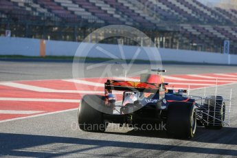 World © Octane Photographic Ltd. Formula 1 - Winter Test 2. Daniel Ricciardo - Red Bull Racing RB13. Circuit de Barcelona-Catalunya. Tuesday 7th March 2017. Digital Ref :1784LB5D9251