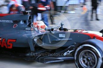 World © Octane Photographic Ltd. Formula 1 - Winter Test 2. Kevin Magnussen - Haas F1 Team VF-17. Circuit de Barcelona-Catalunya. Tuesday 7th March 2017. Digital Ref :1784LB5D9323
