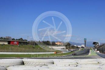 World © Octane Photographic Ltd. Formula 1 - Winter Test 2. Kevin Magnussen - Haas F1 Team VF-17. Circuit de Barcelona-Catalunya. Tuesday 7th March 2017. Digital Ref: 1784LB5D9433