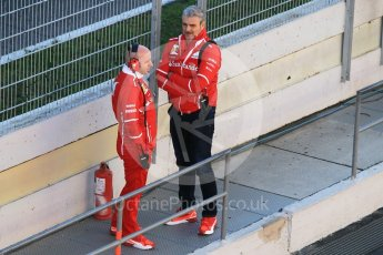 World © Octane Photographic Ltd. Formula 1 - Winter Test 1. Maurizio Arrivabene - Scuderia Ferrari Team principal. Circuit de Barcelona-Catalunya. Wednesday 1st March 2017. Digital Ref : 1782CB1D4282