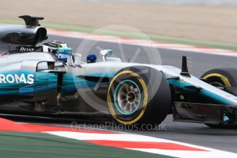World © Octane Photographic Ltd. Formula 1 - Winter Test 1. Valtteri Bottas - Mercedes AMG Petronas F1 W08 EQ Energy+. Circuit de Barcelona-Catalunya. Wednesday 1st March 2017. Digital Ref :1782CB1D8180