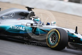 World © Octane Photographic Ltd. Formula 1 - Winter Test 1. Valtteri Bottas - Mercedes AMG Petronas F1 W08 EQ Energy+. Circuit de Barcelona-Catalunya. Wednesday 1st March 2017. Digital Ref :1782CB1D8186