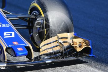 World © Octane Photographic Ltd. Formula 1 - Winter Test 1. Marcus Ericsson – Sauber F1 Team C36. Circuit de Barcelona-Catalunya. Wednesday 1st March 2017. Digital Ref :1782CB1D8283