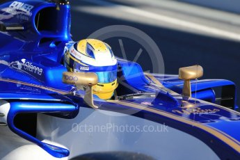 World © Octane Photographic Ltd. Formula 1 - Winter Test 1. Marcus Ericsson – Sauber F1 Team C36. Circuit de Barcelona-Catalunya. Wednesday 1st March 2017. Digital Ref :1782CB1D8301