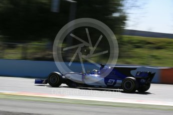 World © Octane Photographic Ltd. Formula 1 - Winter Test 1. Marcus Ericsson – Sauber F1 Team C36. Circuit de Barcelona-Catalunya. Wednesday 1st March 2017. Digital Ref : 1782LB5D8687