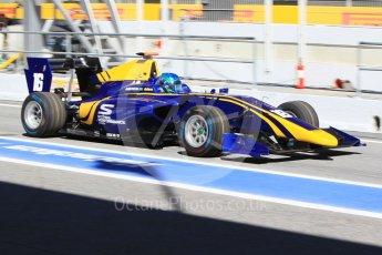 World © Octane Photographic Ltd. GP3 - Practice. Bruno Baptista – DAMS. Circuit de Barcelona - Catalunya, Spain. Friday 12th May 2017. Digital Ref:1814CB1L8617