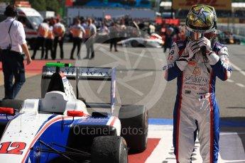 World © Octane Photographic Ltd. GP3 - Race 2. Dorian Boccolacci – Trident. Circuit de Barcelona - Catalunya, Spain. Sunday 14th May 2017. Digital Ref:1821LB1D2943