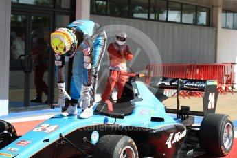 World © Octane Photographic Ltd. GP3 - Race 2. Arjun Maini – Jenzer Motorsport. Circuit de Barcelona - Catalunya, Spain. Sunday 14th May 2017. Digital Ref:1821LB1D2968