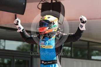 World © Octane Photographic Ltd. GP3 - Race 2. Arjun Maini – Jenzer Motorsport. Circuit de Barcelona - Catalunya, Spain. Sunday 14th May 2017. Digital Ref:1821LB1D2989