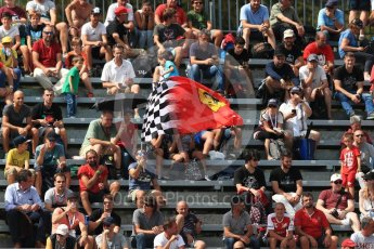 World © Octane Photographic Ltd. Formula 1 - Italian Grand Prix - Practice 2. Fans. Monza, Italy. Friday 1st September 2017. Digital Ref: 1939LB1D2081