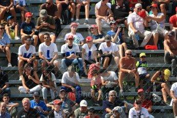 World © Octane Photographic Ltd. Formula 1 - Italian Grand Prix - Practice 2. Fans. Monza, Italy. Friday 1st September 2017. Digital Ref: 1939LB1D2112