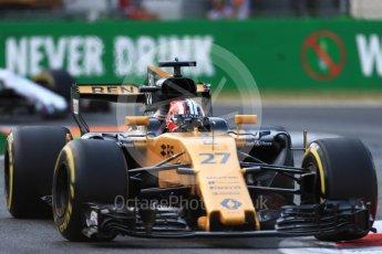 World © Octane Photographic Ltd. Formula 1 - Italian Grand Prix - Practice 2. Nico Hulkenberg - Renault Sport F1 Team R.S.17. Monza, Italy. Friday 1st September 2017. Digital Ref: 1939LB1D2255