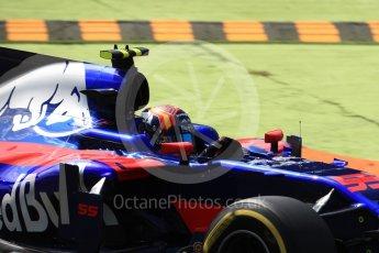 World © Octane Photographic Ltd. Formula 1 - Italian Grand Prix - Practice 2. Carlos Sainz - Scuderia Toro Rosso STR12. Monza, Italy. Friday 1st September 2017. Digital Ref: 1939LB1D2387