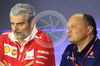 World © Octane Photographic Ltd. Formula 1 - Italian Grand Prix – Friday Team Press Conference – Part 1. Frederic Vasseur – Team Principal and CEO of Sauber Motorsport AG. Monza, Italy. Friday 1st September 2017. Digital Ref: 1940LB1D2947