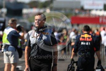 World © Octane Photographic Ltd. Formula 1 - Japanese Grand Prix - Grid. Mario Isola – Pirelli Head of Car Racing. Suzuka Circuit, Suzuka, Japan. Sunday 8th October 2017. Digital Ref:1979LB1D0210