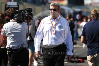 World © Octane Photographic Ltd. Formula 1 - Japanese Grand Prix - Grid. Ross Brawn – Managing Director of Liberty Media. Suzuka Circuit, Suzuka, Japan. Sunday 8th October 2017. Digital Ref:1979LB1D0223
