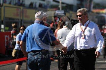World © Octane Photographic Ltd. Formula 1 - Japanese Grand Prix - Grid. Ross Brawn – Managing Director of Liberty Media. Suzuka Circuit, Suzuka, Japan. Sunday 8th October 2017. Digital Ref:1979LB1D0229