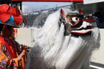 World © Octane Photographic Ltd. Formula 1 - Japanese Grand Prix - Sunday - Drivers' Parade. Traditional celebrations. Suzuka Circuit, Suzuka, Japan. Sunday 8th October 2017. Digital Ref:1979LB1D9945