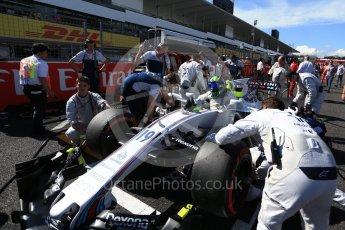 World © Octane Photographic Ltd. Formula 1 - Japanese Grand Prix - Sunday - Grid. Felipe Massa - Williams Martini Racing FW40. Suzuka Circuit, Suzuka, Japan. Sunday 8th October 2017. Digital Ref: 1979LB2D5383