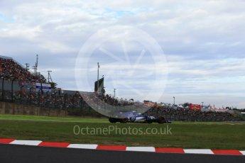 World © Octane Photographic Ltd. Formula 1 - Japanese Grand Prix - Saturday - Qualifying. Marcus Ericsson – Sauber F1 Team C36. Suzuka Circuit, Suzuka, Japan. Saturday 7th October 2017. Digital Ref:1977LB2D4543
