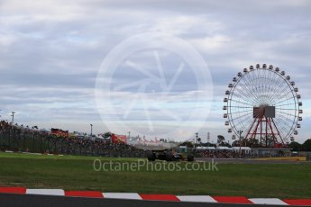 World © Octane Photographic Ltd. Formula 1 - Japanese Grand Prix - Saturday - Qualifying. Nico Hulkenberg - Renault Sport F1 Team R.S.17. Suzuka Circuit, Suzuka, Japan. Saturday 7th October 2017. Digital Ref:1977LB2D4841