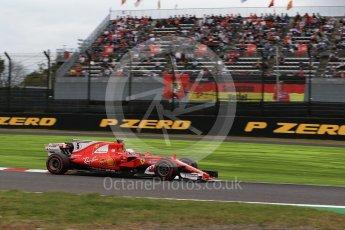 World © Octane Photographic Ltd. Formula 1 - Japanese Grand Prix - Saturday - Qualifying. Sebastian Vettel - Scuderia Ferrari SF70H. Suzuka Circuit, Suzuka, Japan. Saturday 7th October 2017. Digital Ref:1977LB2D4868