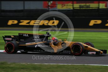 World © Octane Photographic Ltd. Formula 1 - Japanese Grand Prix - Saturday - Qualifying. Nico Hulkenberg - Renault Sport F1 Team R.S.17. Suzuka Circuit, Suzuka, Japan. Saturday 7th October 2017. Digital Ref:1977LB2D4875