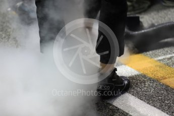 World © Octane Photographic Ltd. Formula 1 - Singapore Grand Prix - Paddock. Dry ice to keep everything cool. Marina Bay Street Circuit, Singapore. Sunday 17th September 2017. Digital Ref: