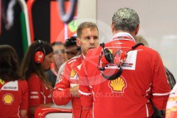 World © Octane Photographic Ltd. Formula 1 - Singapore Grand Prix - Practice 3. Sebastian Vettel - Scuderia Ferrari SF70H. Marina Bay Street Circuit, Singapore. Saturday 16th September 2017. Digital Ref:1962LB1D1142