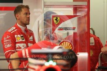 World © Octane Photographic Ltd. Formula 1 - Singapore Grand Prix - Practice 3. Sebastian Vettel - Scuderia Ferrari SF70H. Marina Bay Street Circuit, Singapore. Saturday 16th September 2017. Digital Ref:1962LB1D1149