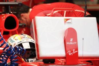 World © Octane Photographic Ltd. Formula 1 - Singapore Grand Prix - Practice 3. Sebastian Vettel - Scuderia Ferrari SF70H. Marina Bay Street Circuit, Singapore. Saturday 16th September 2017. Digital Ref:1962LB1D1466