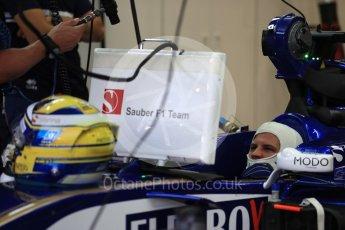 World © Octane Photographic Ltd. Formula 1 - Singapore Grand Prix - Practice 3. Marcus Ericsson – Sauber F1 Team C36. Marina Bay Street Circuit, Singapore. Saturday 16th September 2017. Digital Ref:1962LB1D1643
