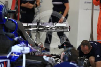 World © Octane Photographic Ltd. Formula 1 - Singapore Grand Prix - Practice 3. Marcus Ericsson – Sauber F1 Team C36. Marina Bay Street Circuit, Singapore. Saturday 16th September 2017. Digital Ref:1962LB1D1774