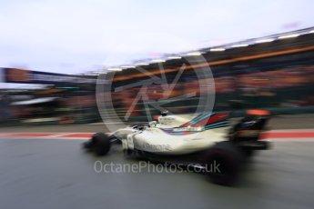 World © Octane Photographic Ltd. Formula 1 - Singapore Grand Prix - Practice 3. Felipe Massa - Williams Martini Racing FW40. Marina Bay Street Circuit, Singapore. Saturday 16th September 2017. Digital Ref:1962LB2D1637
