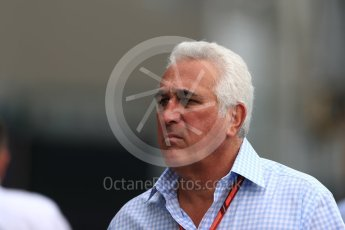 World © Octane Photographic Ltd. Formula 1 - Singapore Grand Prix - Paddock. Lawrence Stroll - Father of Lance Stroll. Marina Bay Street Circuit, Singapore. Saturday 16th September 2017. Digital Ref: