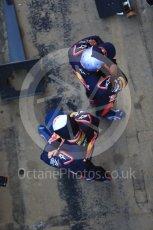 World © Octane Photographic Ltd. Scuderia Toro Rosso STR12 launch, Circuit de Barcelona-Catalunya. Sunday 26th February 2017. Digital Ref :1777CB1D5831