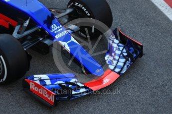 World © Octane Photographic Ltd. Scuderia Toro Rosso STR12 launch, Circuit de Barcelona-Catalunya. Sunday 26th February 2017. Digital Ref :1777CB1D5863