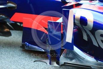 World © Octane Photographic Ltd. Scuderia Toro Rosso STR12 launch, Circuit de Barcelona-Catalunya. Sunday 26th February 2017. Digital Ref :1777LB1D7764