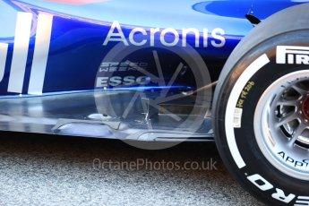 World © Octane Photographic Ltd. Scuderia Toro Rosso STR12 launch, Circuit de Barcelona-Catalunya. Sunday 26th February 2017. Digital Ref :1777LB1D7773